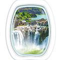 Niagara Falls Porthole Windows by Benny Marty