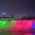 Niagara Falls Under The Moon by Michael Ver Sprill