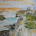 Niagara In Spring by Geeta Biswas