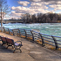 Niagara Rapids In Early Spring by Tammy Wetzel