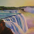 Niagara Sunset by CB Woodling
