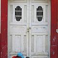 Nicaragua Door 1 by Randall Weidner