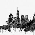 Nice Skyline-black by Erzebet S