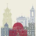 Nice Skyline Poster by Pablo Romero