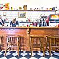 Nick's Diner by David Ralph Johnson