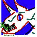 Nietzsche Poster by Paul Sutcliffe