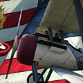 Nieuport 28c Hat In The Ring by Tommy Anderson