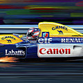 Nigel Mansell Williams Fw14b by David Kyte