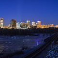 Night At The Floodwall 2 by Aaron Dishner