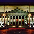 Night At The National Archives Building by D Hackett