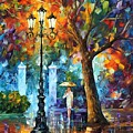 Night Aura by Leonid Afremov