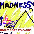 Night Boat To Cairo 1979 by Enki Art