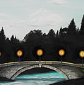 Night Bridge by Melissa A Benson