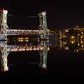 Night Bridge by Steve  L'Italien