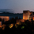 Night Comes To The Alhambra by Weston Westmoreland