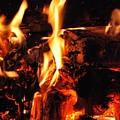Night Fire  by Tyler Knorr
