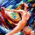 Night Flight  by Leonid Afremov