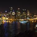 Night In Pittsburgh by Sara Hudock