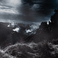 Night Landscape. Australian Mountain View by Jorgo Photography - Wall Art Gallery