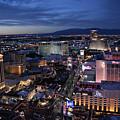 Night Las Vegas Strip by Kyle Hanson