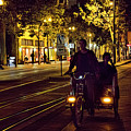 Night Moods Streets Of San Jose   by Chuck Kuhn