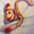 Night Night Sock Monkey by Shannon Grissom