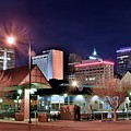 Night Panorama Of Okc by Frozen in Time Fine Art Photography