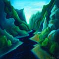 Night River by Angela Treat Lyon