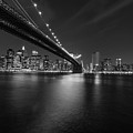 Night Scape Bw by Michael Damiani