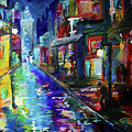 Night Scene In The Big Easy by Kelly Gentry
