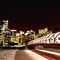 Night Shots Calgary Alberta Canada by Mark Duffy