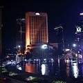 Night Skyline Of Jakarta Indonesia 3 by Uma Krishnamoorthy