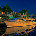 Night Time In Fort Lauderdale by James O Thompson