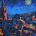 Night Time View Of Cork City by John Corkery