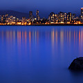Night Vancouver Cityscape by Pierre Leclerc Photography