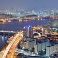 Night View Of Seoul by Tokism