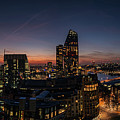 Night View Of The City Of London by Nigel Forster