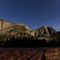 Night View Of The Upper Yosemite Fall by Chon Kit Leong