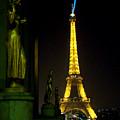 Night Vision - Eiffel Beauty by Al Bourassa