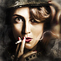 Night Watch Military Pin Up by Jorgo Photography - Wall Art Gallery