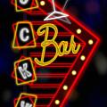Nightclub Sign Luckys Bar by Shari Warren