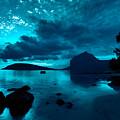 Nightfall Near Le Morne by Julian Cook