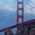 Nightfall Over Golden Gate by Jonathan Nguyen