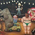 Nightmare Circus by Leah Saulnier The Painting Maniac