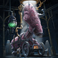 Nightmare Victorian Flesh Creature Horror by Martin Davey