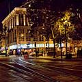 Nights, Lights Downtown Sj by Chuck Kuhn