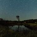 Nightscape And Dam Landscape by Merrillie Redden