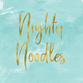Nighty Noodles Custom Art By Linda Woods by Linda Woods
