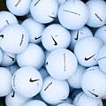 Nike Golf Balls by Anthony King
