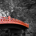 Nikko Red Bridge by Naxart Studio
